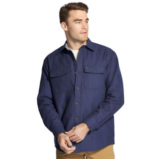 Men's IZOD Classic-Fit Plaid Shirt Jacket
