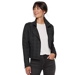 Women's Apt. 9® Knit Moto Jacket