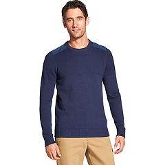 Men's IZOD Mixed Media Sweater