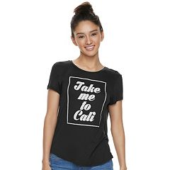 Juniors' About A Girl 'Take Me To' State Tee
