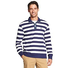 Men's IZOD Advantage Classic-Fit Striped Performance Quarter-Zip Pullover