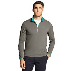 Men's IZOD Advantage Performance Waffle-Knit Quarter-Zip Pullover