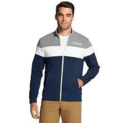 Men's IZOD Advantage SportFlex Colorblock Track Jacket