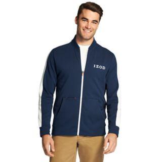 Men's IZOD Advantage SportFlex Colorblock Track Jacket