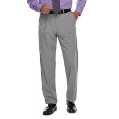 Big & Tall Croft & Barrow® Classic-Fit No-Iron Stretch Pleated Dress Pants