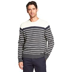 Men's IZOD Newport Classic-Fit Striped Crewneck Sweater