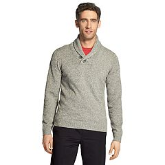 Men's IZOD Premium Essentials Classic-Fit Shawl-Collar Sweater