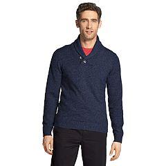 Men's IZOD Premium Essentials Classic-Fit Shawl-Collar Sweater