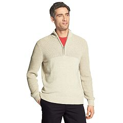 Men's IZOD Newport Classic-Fit Marled Quarter-Zip Sweater