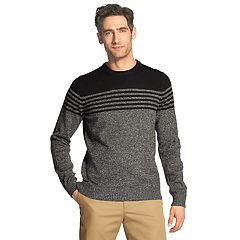 Men's IZOD Classic-Fit Striped Crewneck Sweater