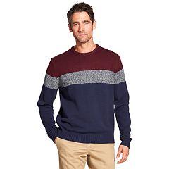 Men's IZOD Classic-Fit Striped Crewneck Sweater