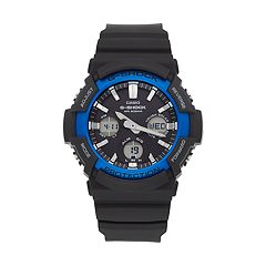 Casio Men's G-Shock Analog-Digital Tough Solar Watch - GAS100B-1A2