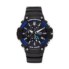 Casio Men's Heavy-Duty Chronograph Watch - MCW110H-2AV