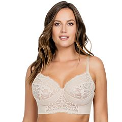 Full Figure Parfait  Cora Lace Unlined Longline Bra P5632