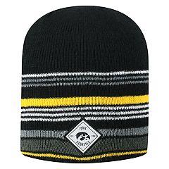 Men's Top of the World Iowa Hawkeyes Avenue Knit Beanie Hat