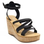 sugar Jeez Women's Wedge Sandals