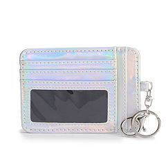 Mudd® Iridescent Card Holder Pouch