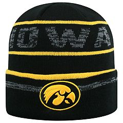 Adult Top of the World Iowa Hawkeyes Effect Beanie