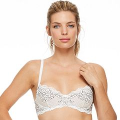 Women's Montelle Intimates Lace Demi Bra 9041