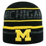 Adult Top of the World Michigan Wolverines Effect Beanie
