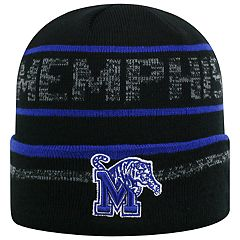 Adult Top of the World Memphis Tigers Effect Beanie
