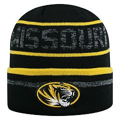 Adult Top of the World Missouri Tigers Effect Beanie