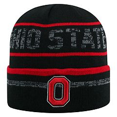 Adult Top of the World Ohio State Buckeyes Effect Beanie