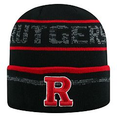 Adult Top of the World Rutgers Scarlet Knights Effect Beanie