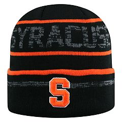 Adult Top of the World Syracuse Orange Effect Beanie