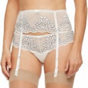 Women's Montelle Intimates Lace Garter Belt 9047