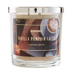 SONOMA Goods for Life™ Vanilla Pumpkin Latte 14-oz. Candle Jar