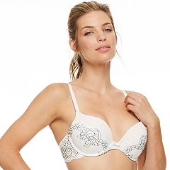 Women's Montelle Intimates Lace Push-Up Bra 9042