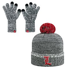 Adult Top of the World Louisville Cardinals Frostbite Beanie & Glove Set