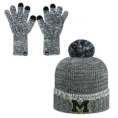 Adult Top of the World Michigan Wolverines Frostbite Beanie & Glove Set