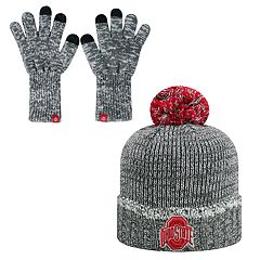 Adult Top of the World Ohio State Buckeyes Frostbite Beanie & Glove Set