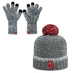 Adult Top of the World Oklahoma Sooners Frostbite Beanie & Glove Set
