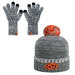 Adult Top of the World Oklahoma State Cowboys Frostbite Beanie & Glove Set
