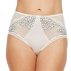 Women's Montelle Intimates Lace Hi-Cut Panty 9046