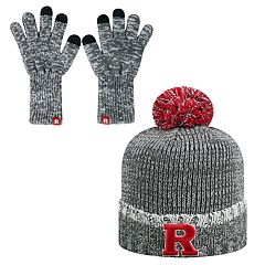 Adult Top of the World Rutgers Scarlet Knights Frostbite Beanie & Glove Set