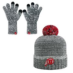 Adult Top of the World Utah Utes Beanie & Gloves Set
