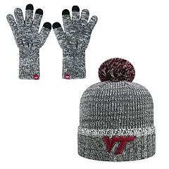 Adult Top of the World Virginia Tech Hokies Frostbite Beanie & Glove Set
