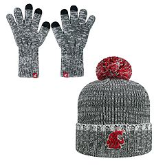 Adult Top of the World Washington State Cougars Frostbite Beanie & Glove Set