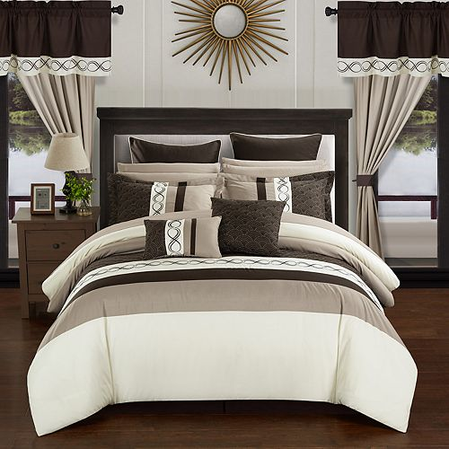 Chic Home Idit 24-piece Bedding Set