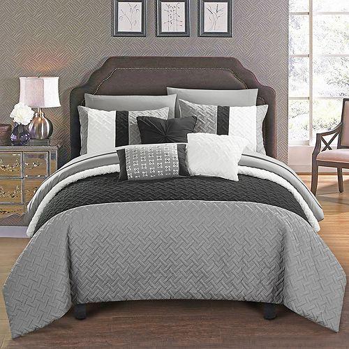 Chic Home Osnat 10 Piece Bedding Set