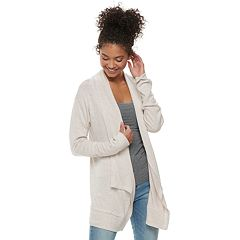 Juniors' SO® Hatchi Cardigan