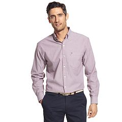 Men's IZOD Premium Essentials Classic-Fit Striped Button-Down Shirt
