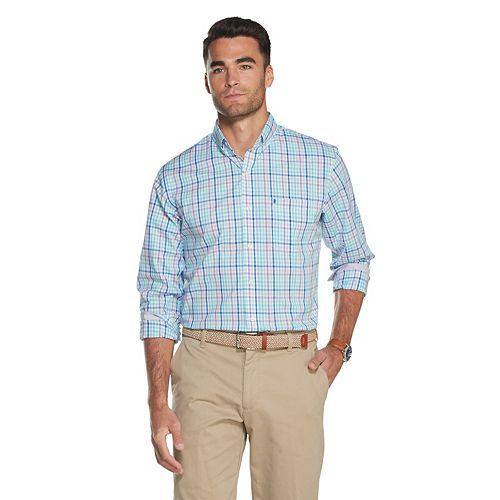 Men's IZOD Premium Essentials Classic-Fit Button-Down Shirt