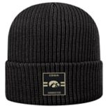 Adult Top of the World Iowa Hawkeyes Incline Ribbed Beanie
