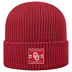 Adult Top of the World Oklahoma Sooners Incline Ribbed Beanie