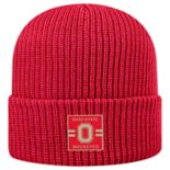 Adult Top of the World Ohio State Buckeyes Incline Ribbed Beanie